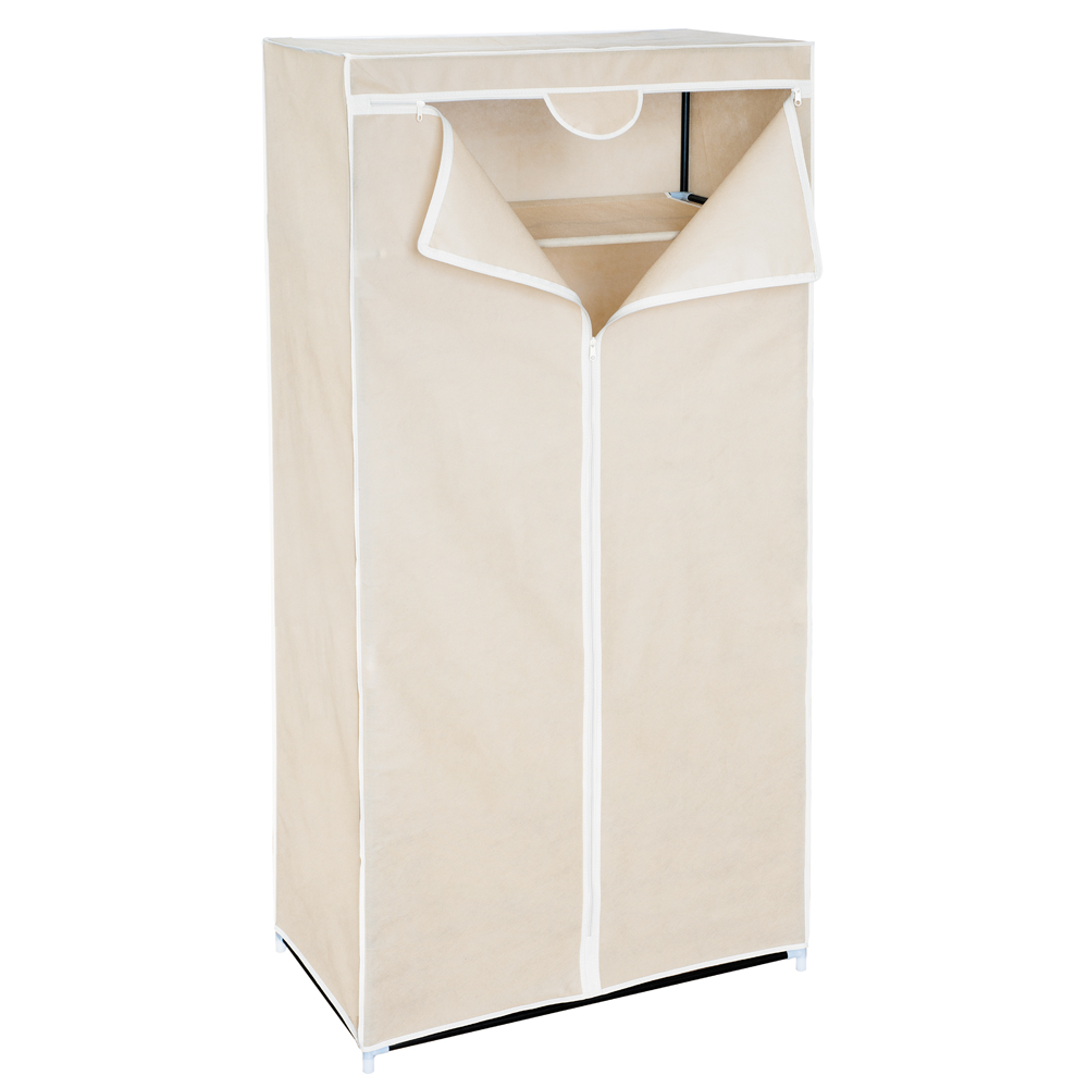 Мобильный шкаф для одежды Art Moon Ontario, цвет: мокко, 75 см х 46 см х 160 см699164Мобильный шкаф для одежды Art Moon Ontario, предназначенный для храненияодежды и других вещей, это отличное решение проблемы, когда наблюдаетсяявныйдефицит места или есть временная необходимость. Складной тканевый шкаф – этомобильная конструкция, состоящая из сборного металлического каркаса на который натянутчехол из нетканого полотна. Корпус шкафа сделан из легкой, но прочной стали, аобивка из полиэстера, который можно легко стирать в стиральной машинке.Каждая перекладина шкафа может выдержать вес до 15-20 кг (без деформацииконструкции). Лучшее сырье и строгий контроль качества на производстве - вотто, благодаря чему шкафы компании Art Moon служат долгие годы своимобладателям!
