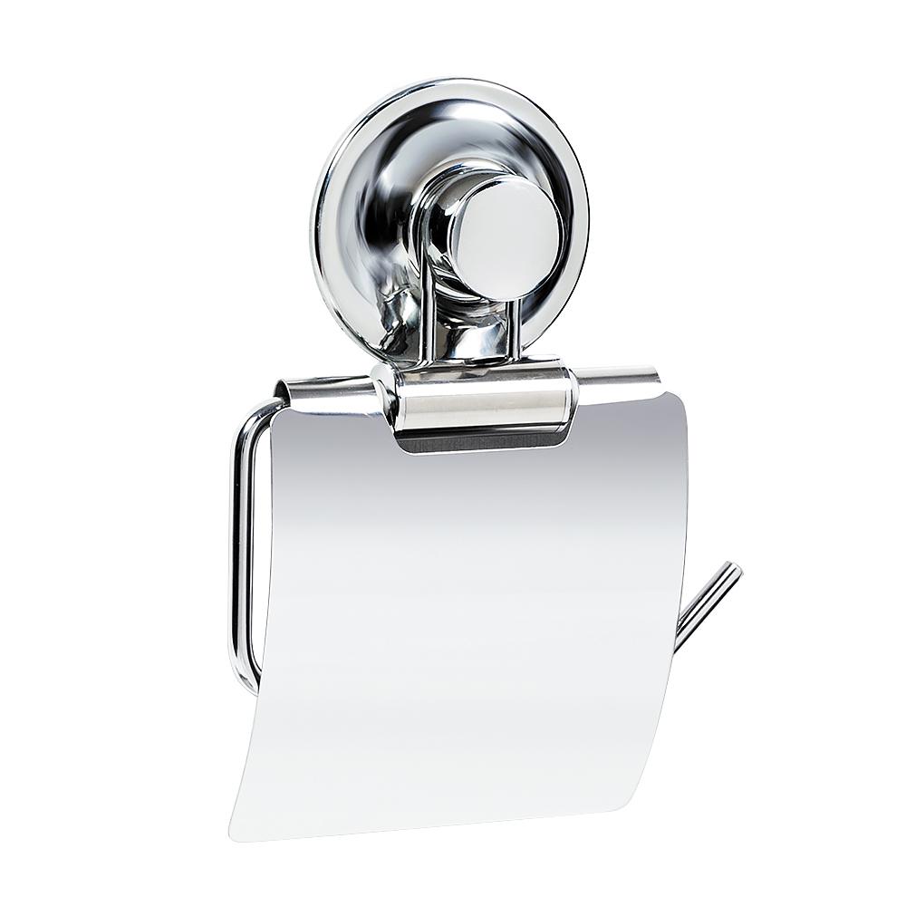Держатель для туалетной бумаги Tatkraft Ring Lock, 12,5 х 2 х 12 см вешалка для полотенец tatkraft ring lock с выдвижными планками 31 5 х 3 5 х 16 см
