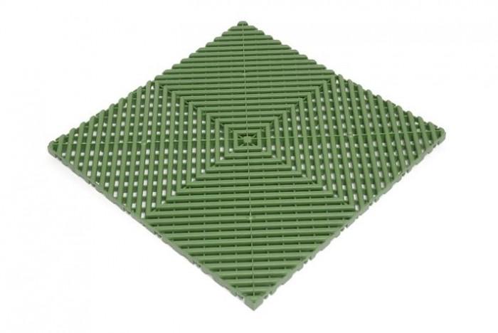 Плитка для пола Plasto Rip, цвет: зеленый, 40 х 40 х 1,8 см, 6 шт манипулятор 40 тонн астана