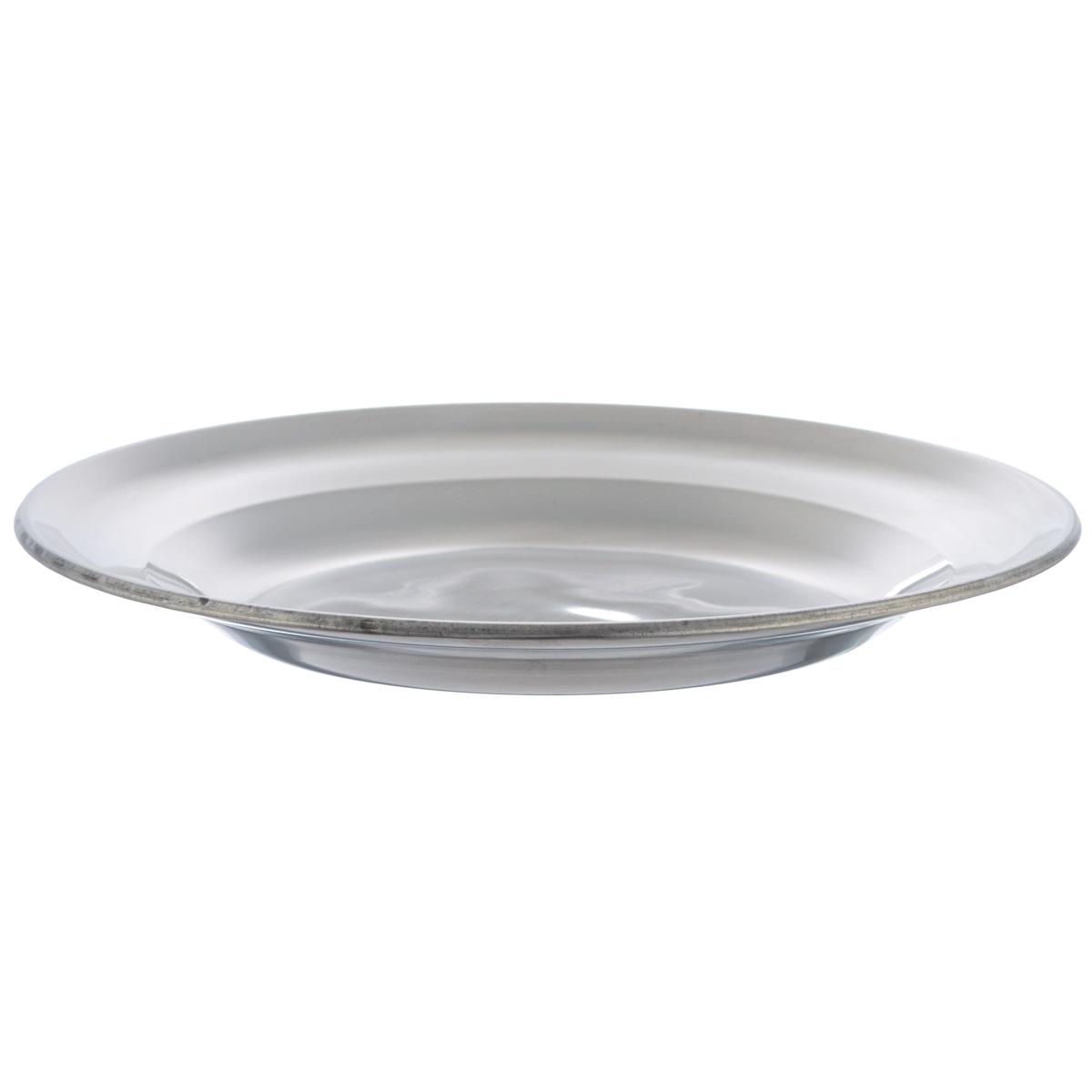 Тарелка Padia, диаметр 20 см5400-04Тарелка Padia изготовлена из нержавеющей стали. Удобная посуда прекрасно подойдет для походов и пикников. Прочная, компактная тарелка легко моется. Отлично подойдет для горячих блюд.Диаметр тарелки: 20 см.Высота тарелки: 2,3 см.