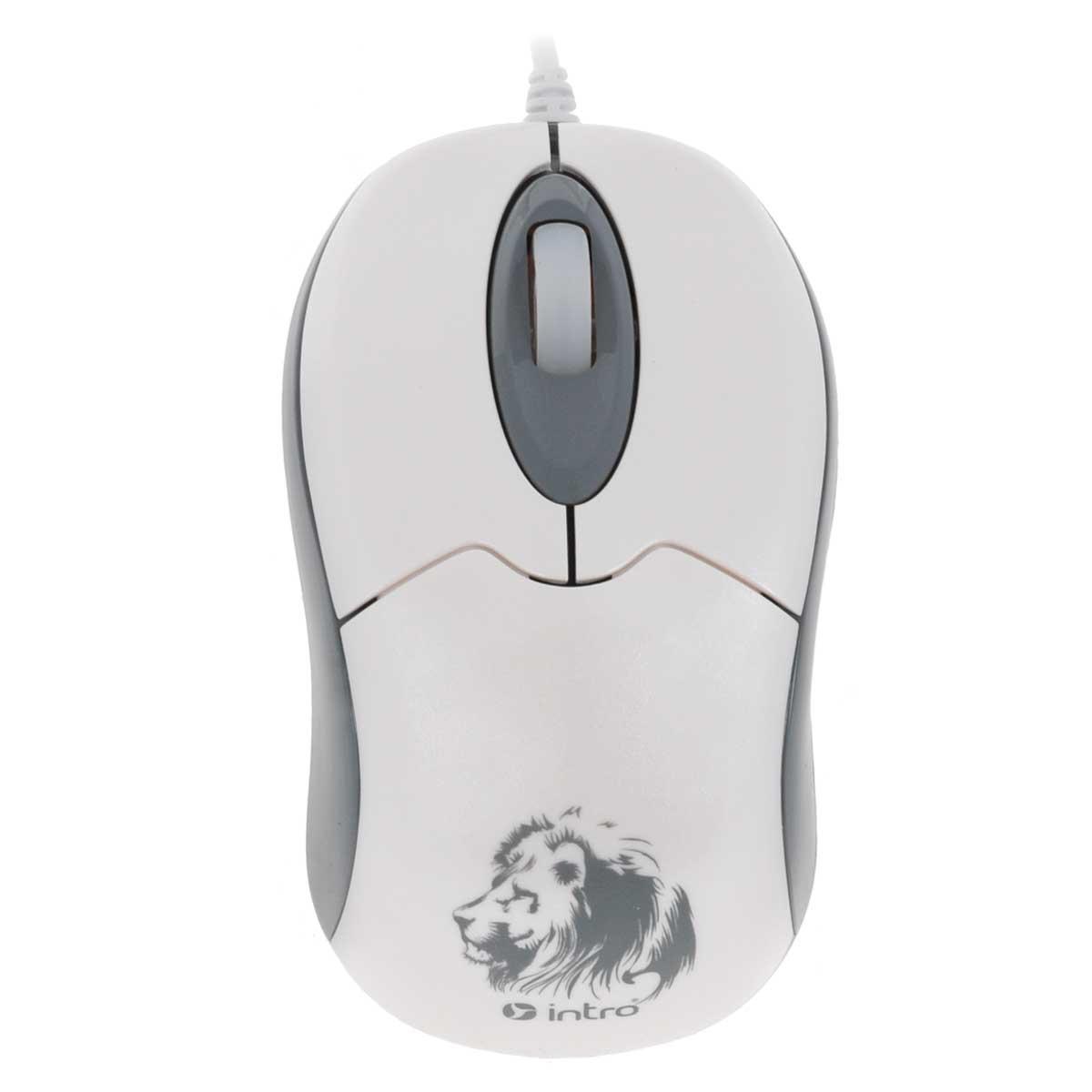 все цены на  Intro MU204, White мышь  онлайн