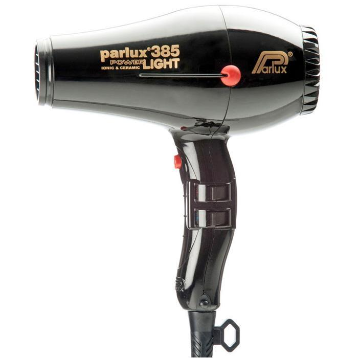 Parlux 385 PowerLight 0901-385, Black фен parlux 385 powerlight 0901 385 red фен
