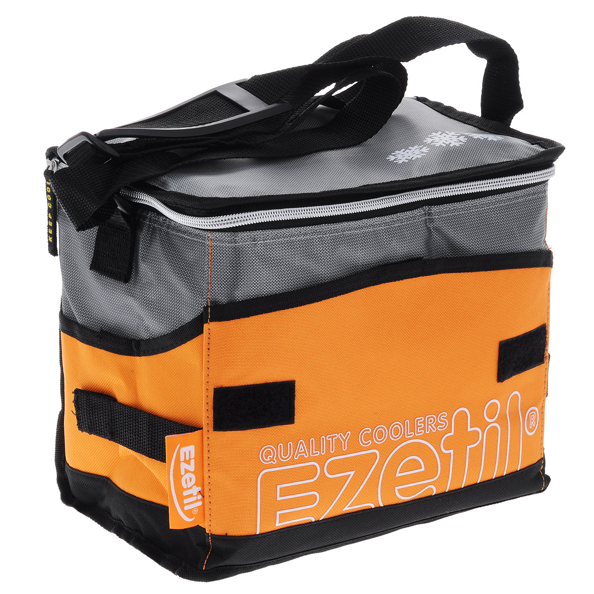 Сумка-холодильник Ezetil KC Extreme, цвет: оранжевый, 6 л аккумулятор холода ezetil ice akku g 430