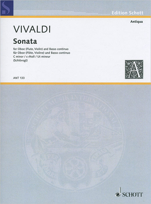 Antonio Vivaldi Antonio Vivaldi: Sonata C Minor for Oboe (Flute, Violin) and Basso Continuo