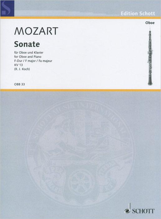 Wolfgang Amadeus Mozart Wolfgang Amadeus Mozart: Sonata F Major for Oboe and Piano: KV 13 mark albrecht wolfgang amadeus mozart die zauberflote blu ray