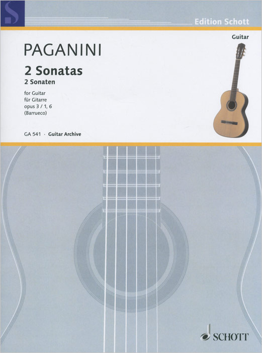 Niccolo Paganini Niccolo Paganini: 2 Sonatas: Opus 3 / 1,6: For Guitar 2pcs black strap button mounting screw for guitar mandolin