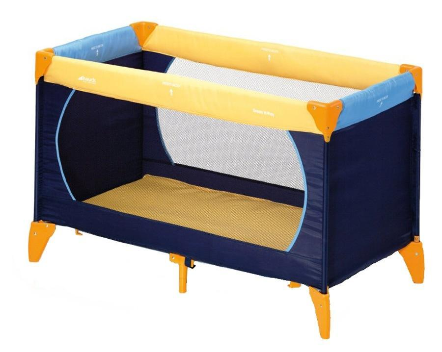Манеж Hauck Dream`n Play yellow/blue/navy
