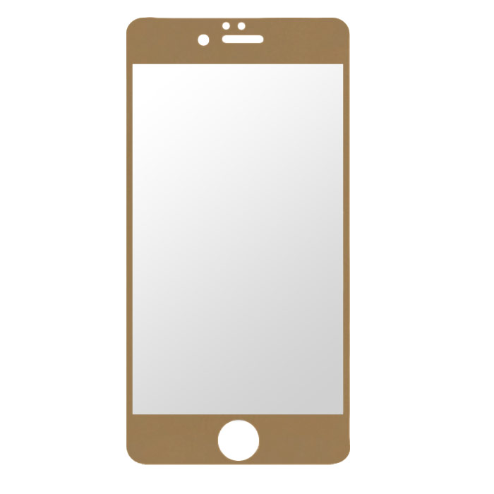 Liberty Project Tempered Glass защитное стекло для iPhone 6, Gold (0,33 мм) mediagadget tempered glass для iphone 6