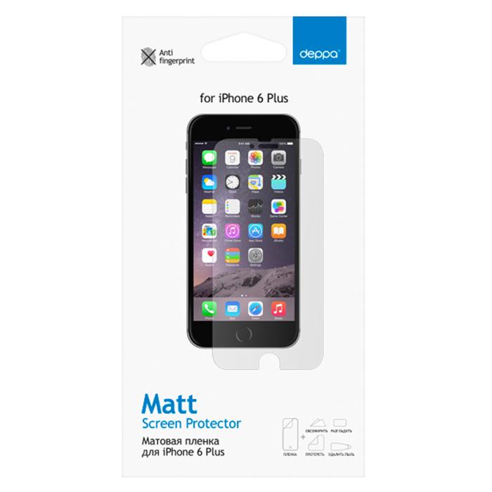 Deppa защитная пленка для Apple iPhone 6 Plus, матовая