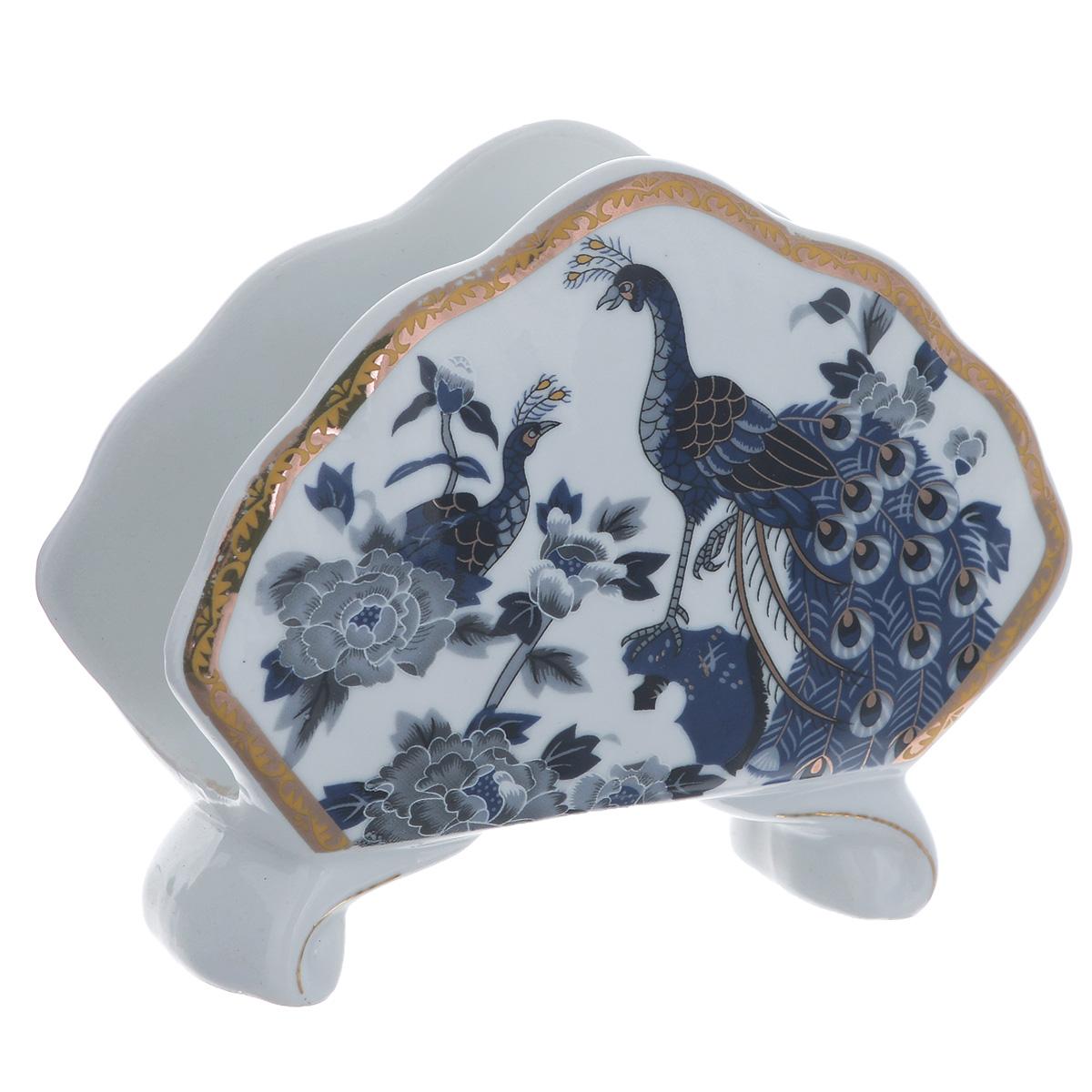 Салфетница Saguro Синий павлин. 545-300