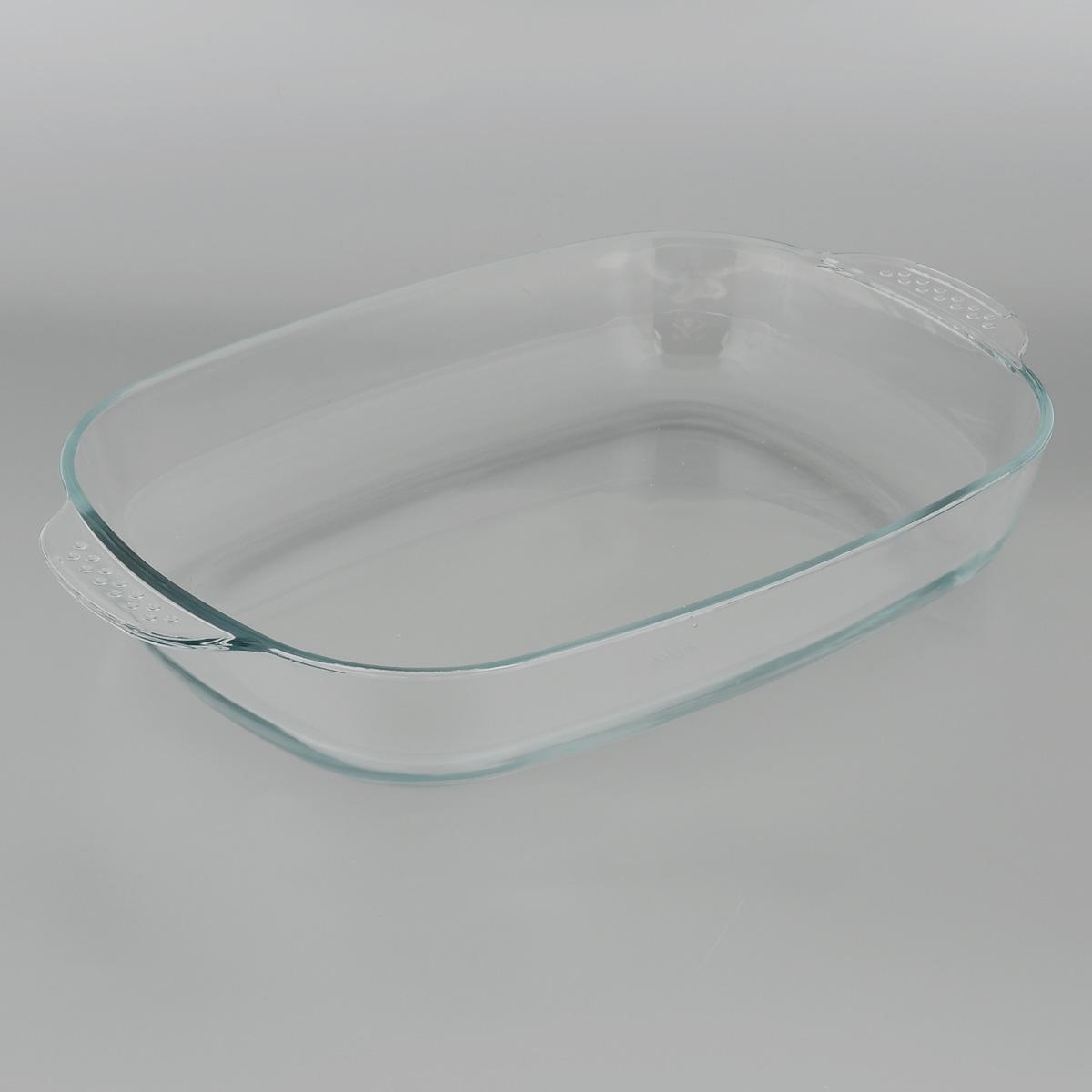 Форма для запекания Едим Дома, прямоугольная, 34 х 22 смPVH5Прямоугольная форма для запекания Едим Дома изготовлена из жаропрочного стекла, которое выдерживает температуру до +450°С. Форма предназначена для приготовления горячих блюд. Оснащена двумя ручками. Материал изделия гигиеничен, прост в уходе и обладает высокой степенью прочности. Форма идеально подходит для использования в духовках, микроволновых печах, холодильниках и морозильных камерах. Также ее можно использовать на газовых плитах (на слабом огне) и на электроплитах. Можно мыть в посудомоечной машине.Внутренний размер формы: 29 см х 22 см.Внешний размер формы (с учетом ручек): 34 см х 22 см. Высота стенки формы: 6 см.
