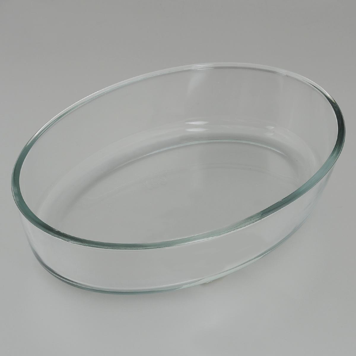 Форма для запекания Едим Дома, овальная, 30 х 21 см форма для запекания ceraflame цвет красный 31 см х 21 см