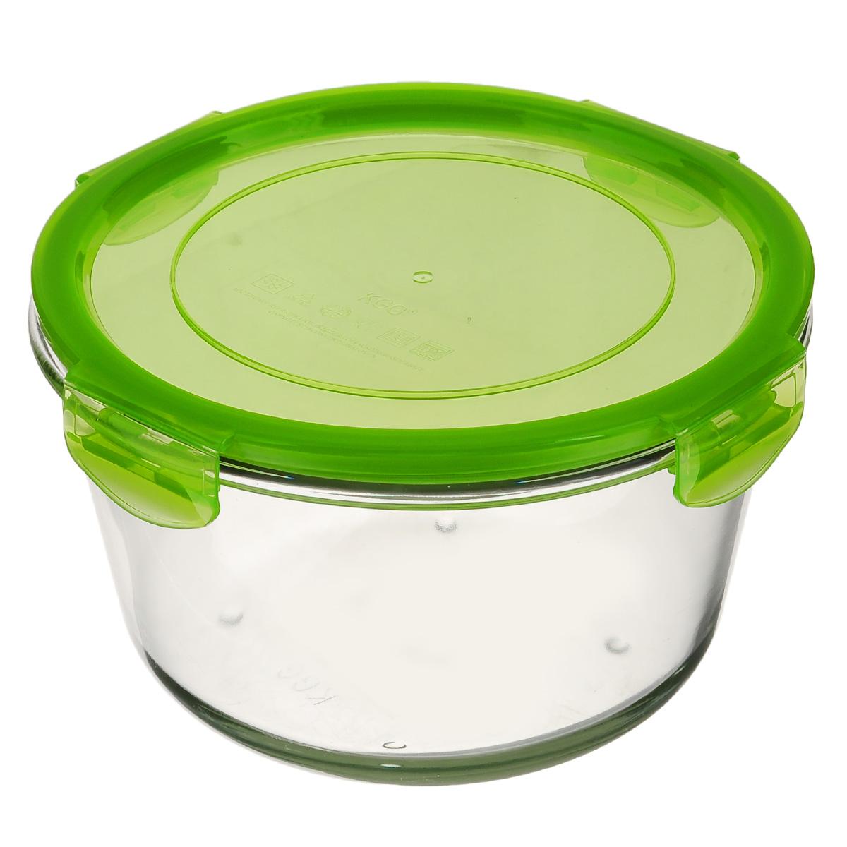 Форма для запекания Mijotex с крышкой, круглая, цвет: зеленый, диаметр 18 смLRD4CКруглая форма для запекания Mijotex изготовлена из жаропрочного стекла, которое выдерживает температуру до +450°С. Форма предназначена для приготовления горячих блюд. Оснащена герметичной пластиковой крышкой с силиконовым уплотнителем для хранения продуктов. Материал изделия гигиеничен, прост в уходе и обладает высокой степенью прочности. Форма (без крышки) идеально подходит для использования в духовках, микроволновых печах, холодильниках и морозильных камерах. Также ее можно использовать на газовых плитах (на слабом огне) и на электроплитах. Можно мыть в посудомоечной машине.Диаметр формы (по верхнему краю): 18 см.Высота стенки формы: 11 см.
