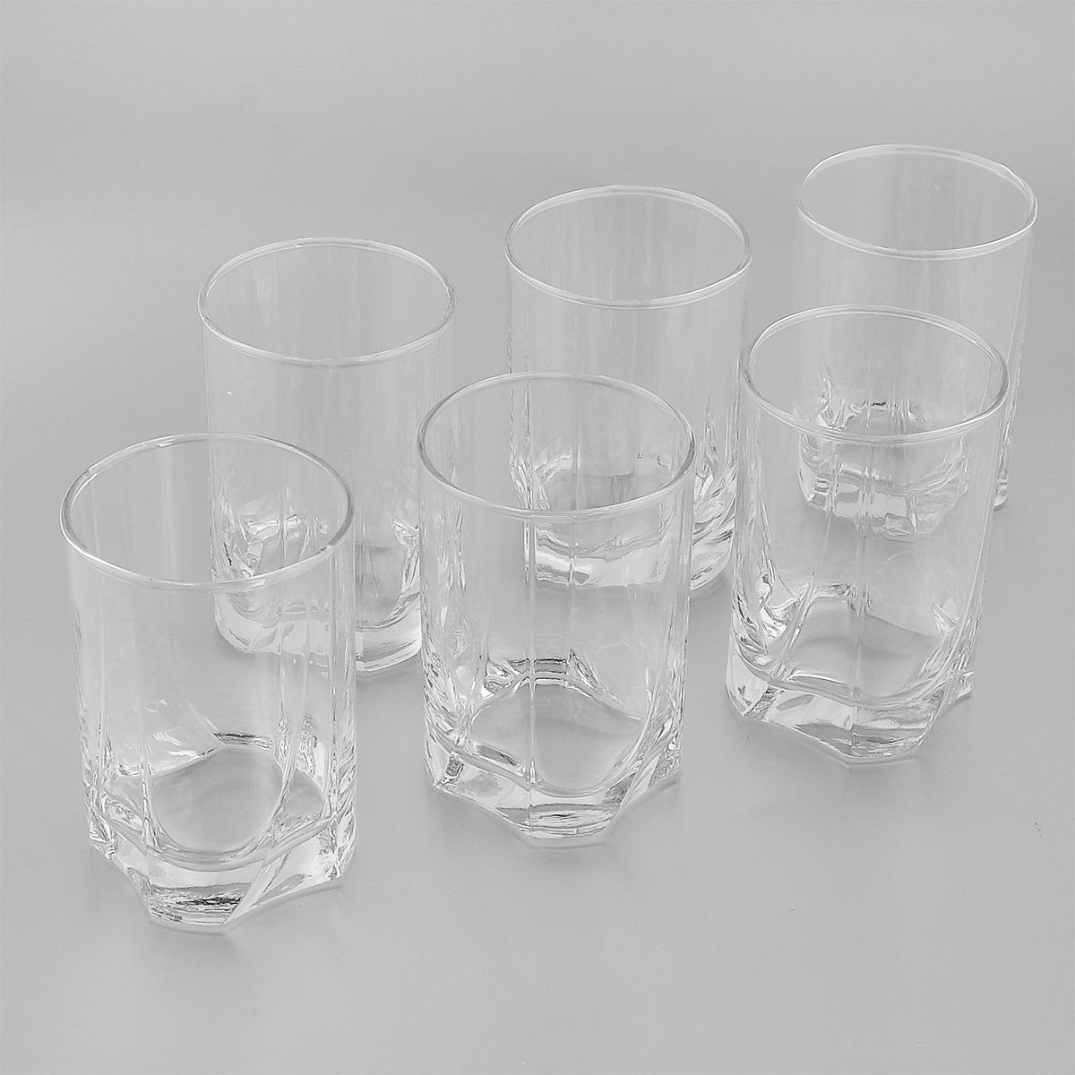 Набор стаканов Pasabahce Luna, 255 мл, 6 шт42378BНабор Pasabahce Luna, выполненный из высококачественного натрий-кальций-силикатного стекла, состоит из шести стаканов. Стаканы прекрасно подойдут для компотов, соков и других напитков. Их оценят как любители классики, так и те, кто предпочитает современный дизайн. Можно использовать в морозильной камере и микроволновой печи. Можно мыть в посудомоечной машине. Диаметр стакана (по верхнему краю): 6,5 см. Высота стакана: 10 см.