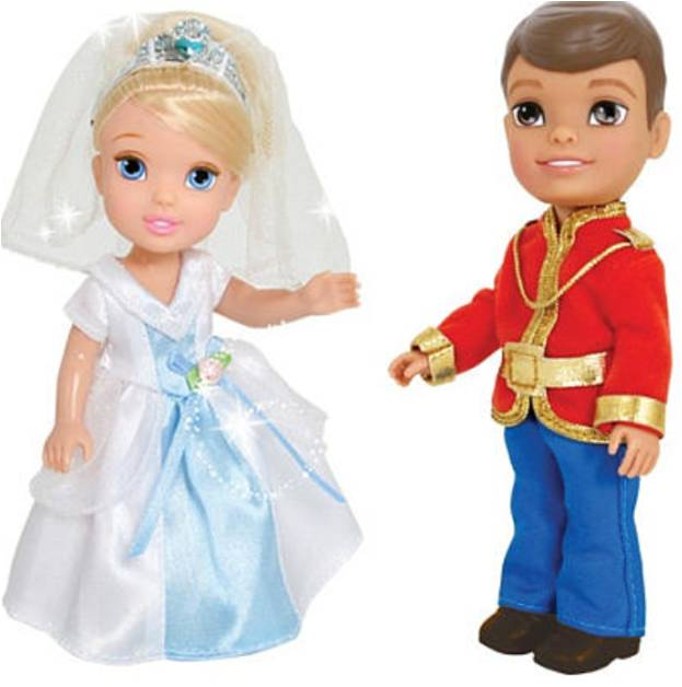 Disney Princess Игровой набор с мини-куклами Petite Princess Cinderella and Prince Charming dear prince charming