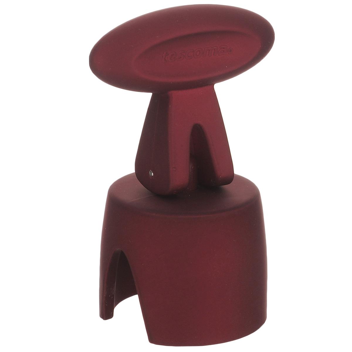 """Пробка для шампанского Tescoma """"Uno Vino"""" отлично подходит для герметичного закрытия бутылок с игристыми винами. Шампанское в бутылке с такой пробкой остается свежим дольше. Пробка изготовлена из высокопрочного пластика с прорезиненным покрытием. Очень простой и функциональный инструмент на любой кухне. Не рекомендуется мыть в посудомоечной машине."""
