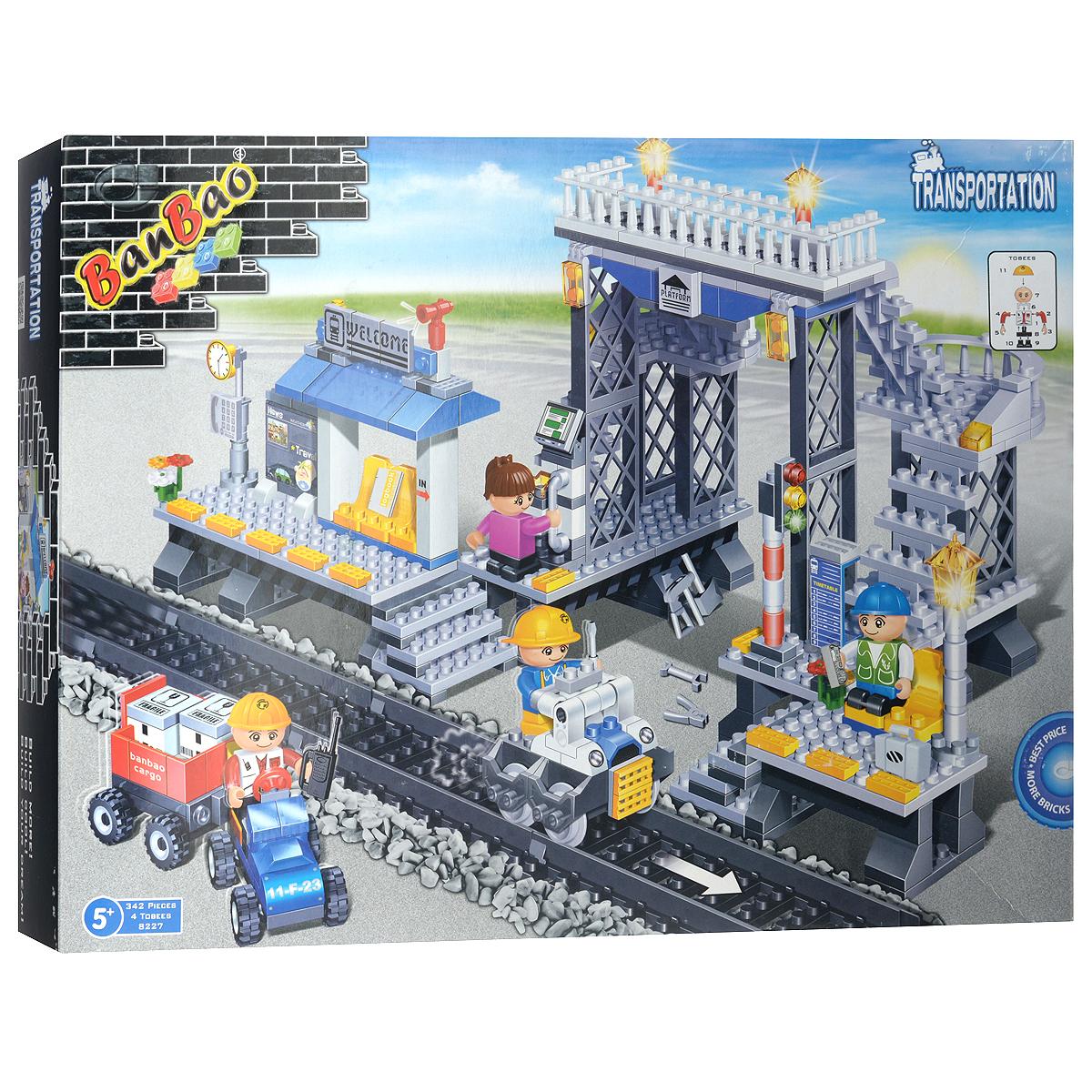 BanBao Конструктор Железнодорожная станция