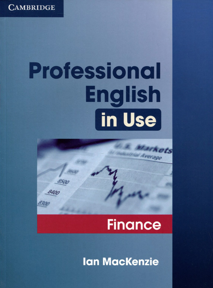 Professional English in Use: Finance mccarthy m english vocabulary in use upper intermediate 3 ed with answ cd rom английская лексика