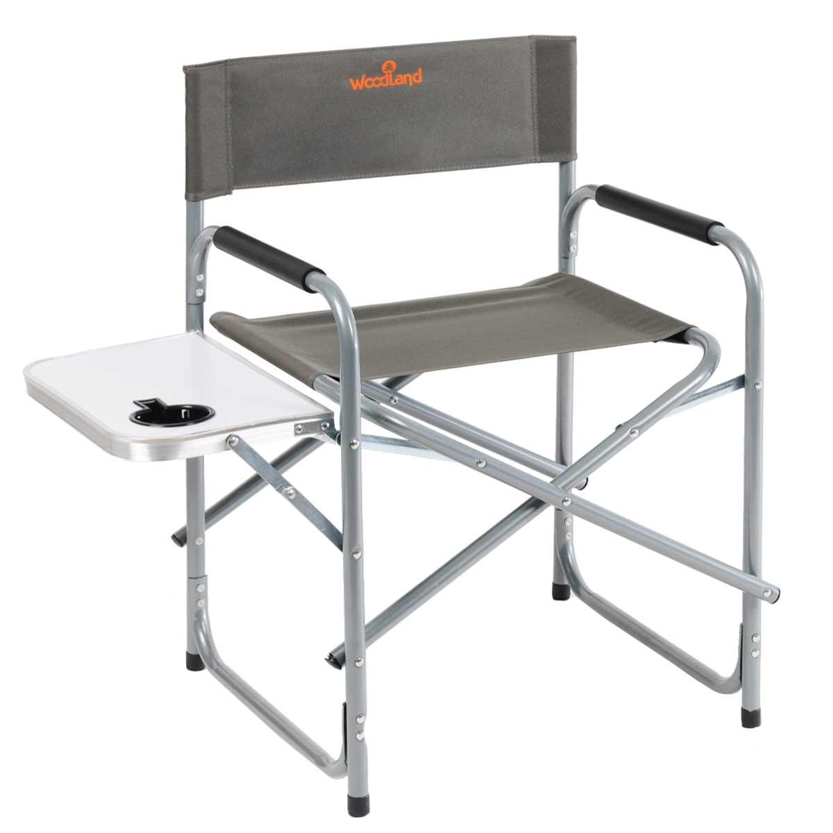 Кресло складное Woodland Fisherman, цвет: серый, 55 х 47 х 80 см