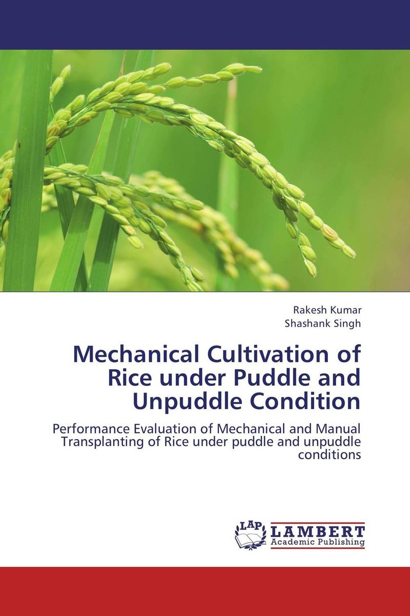 Mechanical Cultivation of Rice under Puddle and Unpuddle Condition natural enemy fauna in rice wheat system of india