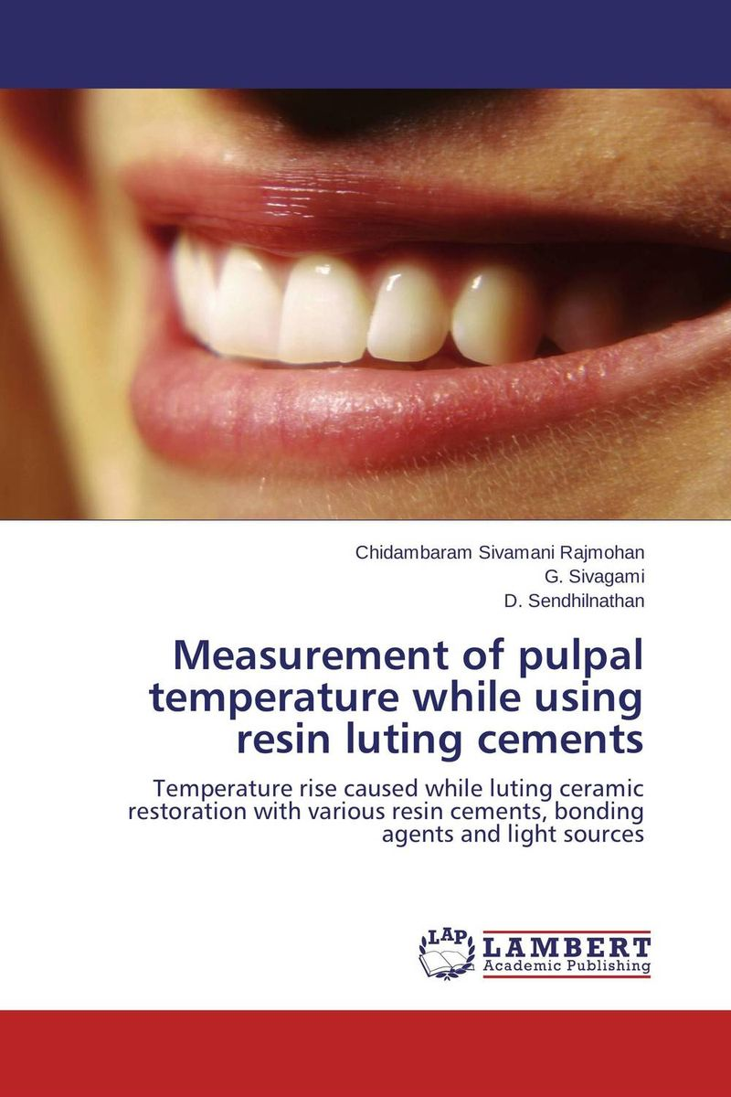 Measurement of pulpal temperature while using resin luting cements купить