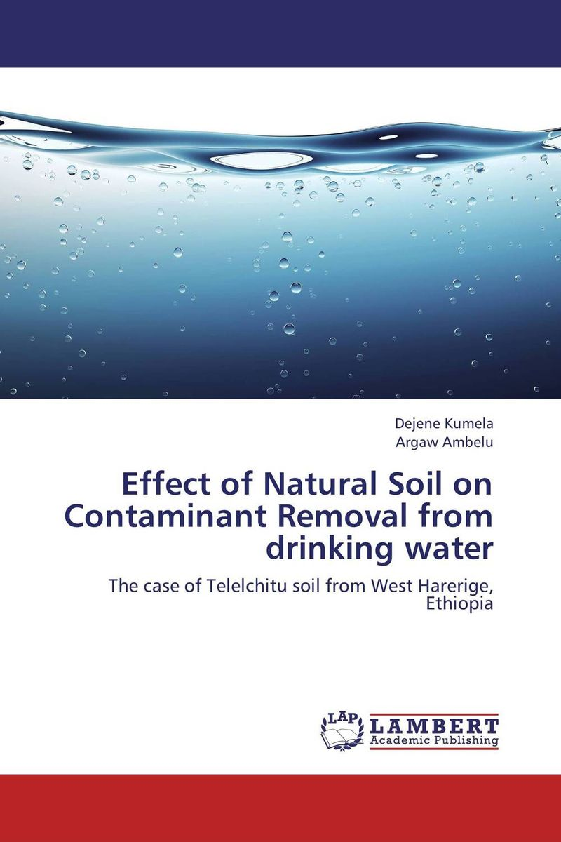 Effect of Natural Soil on Contaminant Removal from drinking water antimicrobial contaminant elimination from water and waste sludge