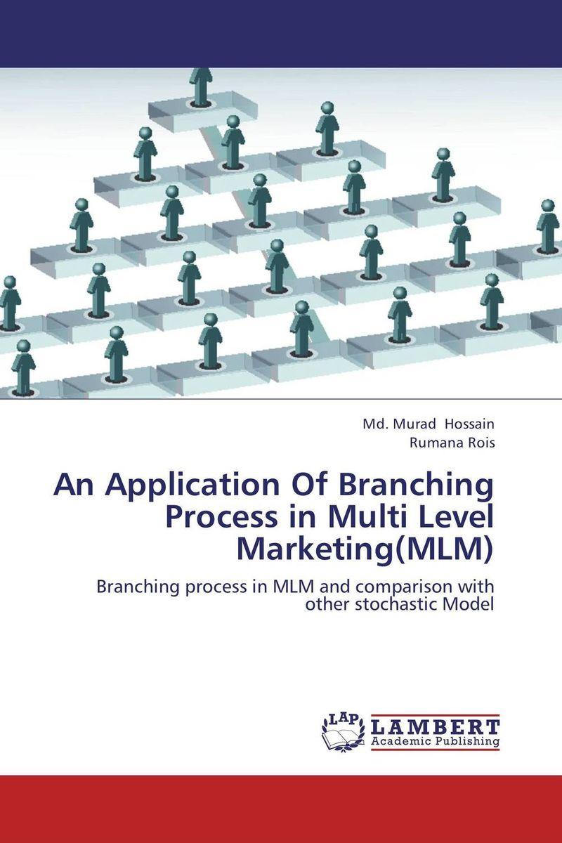 An Application Of Branching Process in Multi Level Marketing(MLM) kunchi madhavi and tirupathi rao padi stochastic modeling