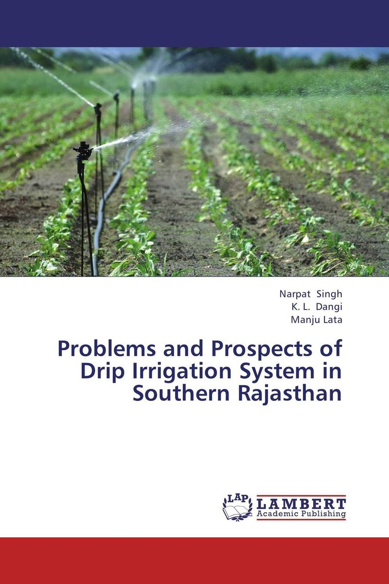 Problems and Prospects of Drip Irrigation System in Southern Rajasthan community spate irrigation in raya valley