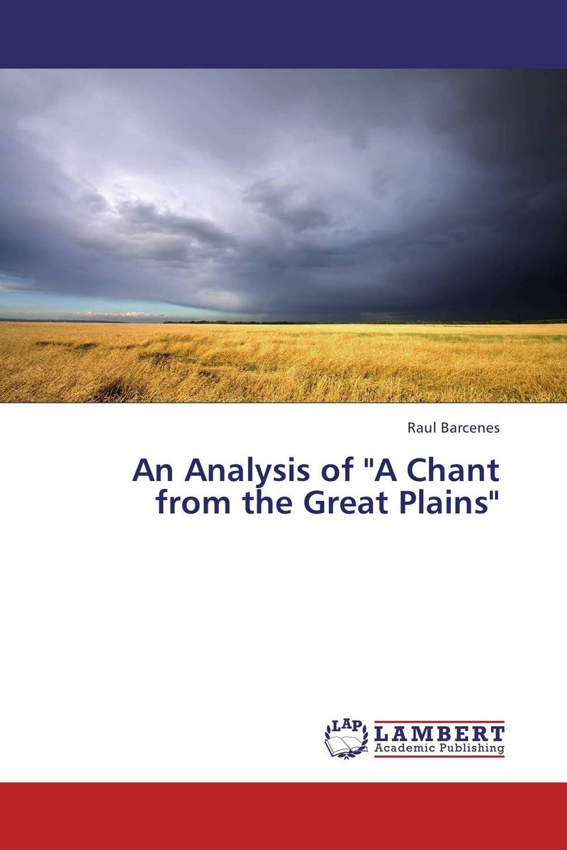 An Analysis of A Chant from the Great Plains