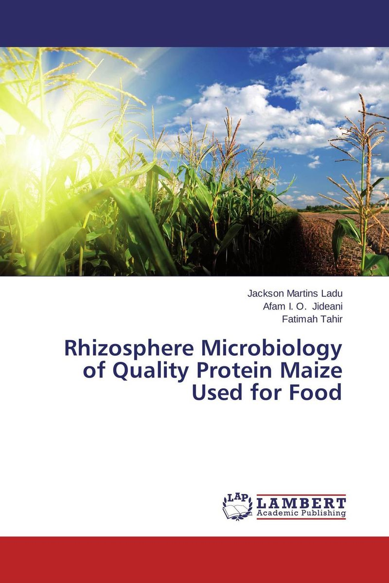 Rhizosphere Microbiology of Quality Protein Maize Used for Food