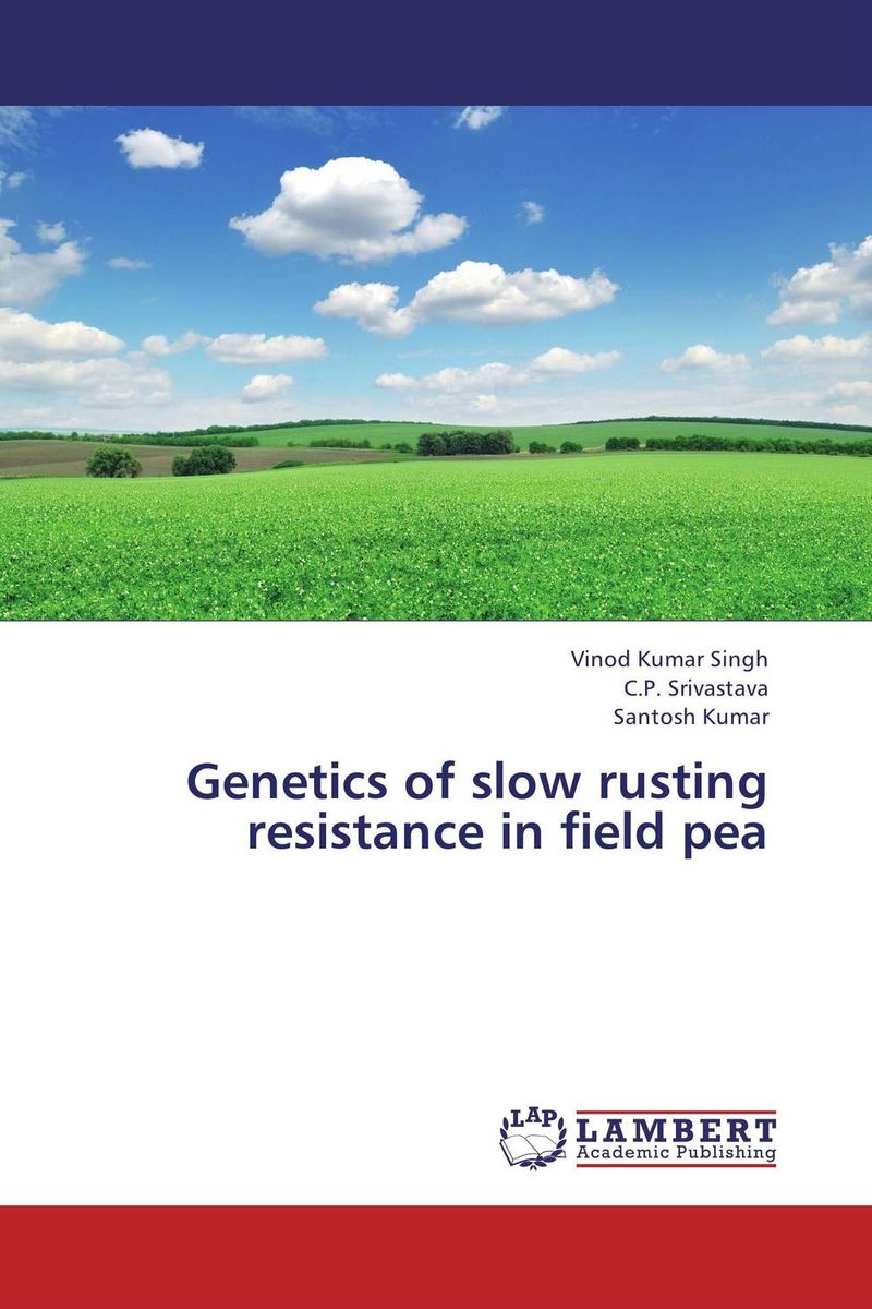 Genetics of slow rusting resistance in field pea purnima sareen sundeep kumar and rakesh singh molecular and pathological characterization of slow rusting in wheat