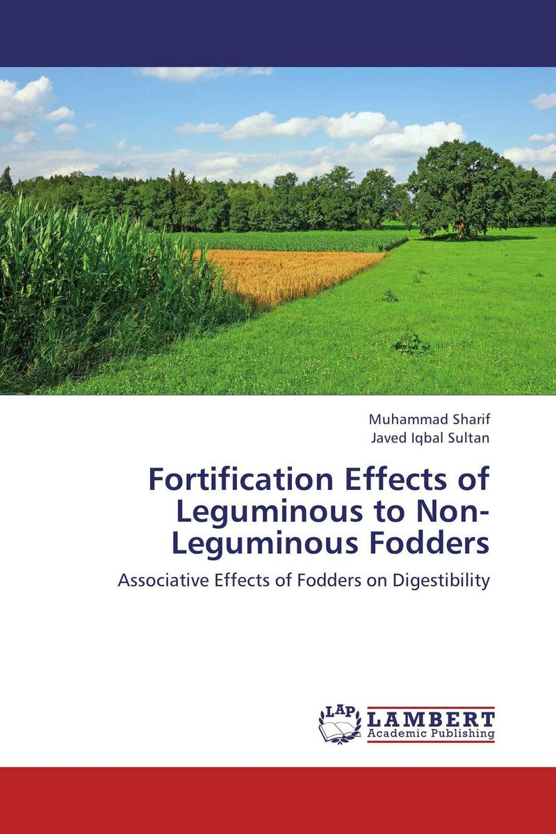 Fortification Effects of Leguminous to Non-Leguminous Fodders smeg fq55fxe