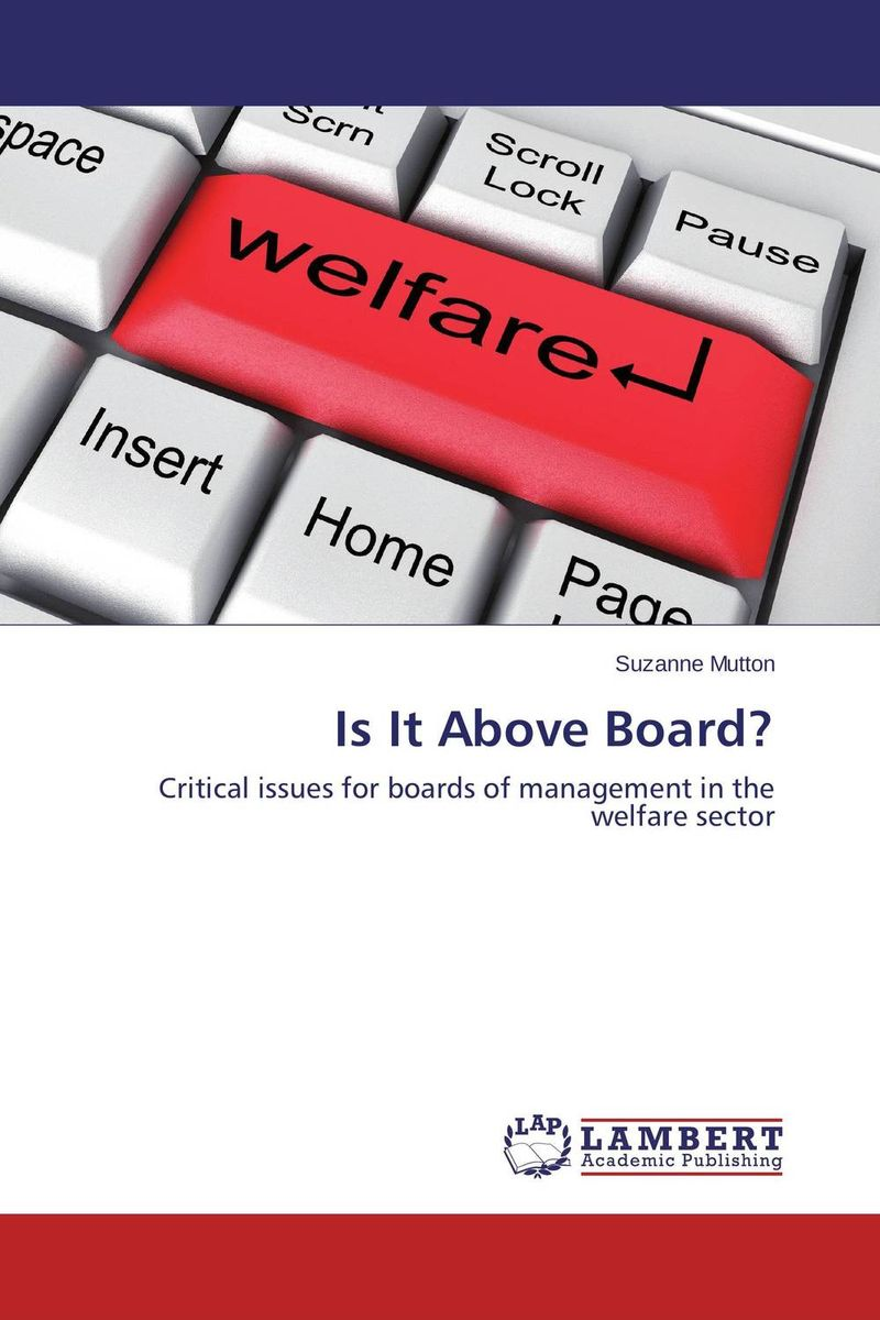 Is It Above Board? jane mcloughlin faith based organisations in new zealand