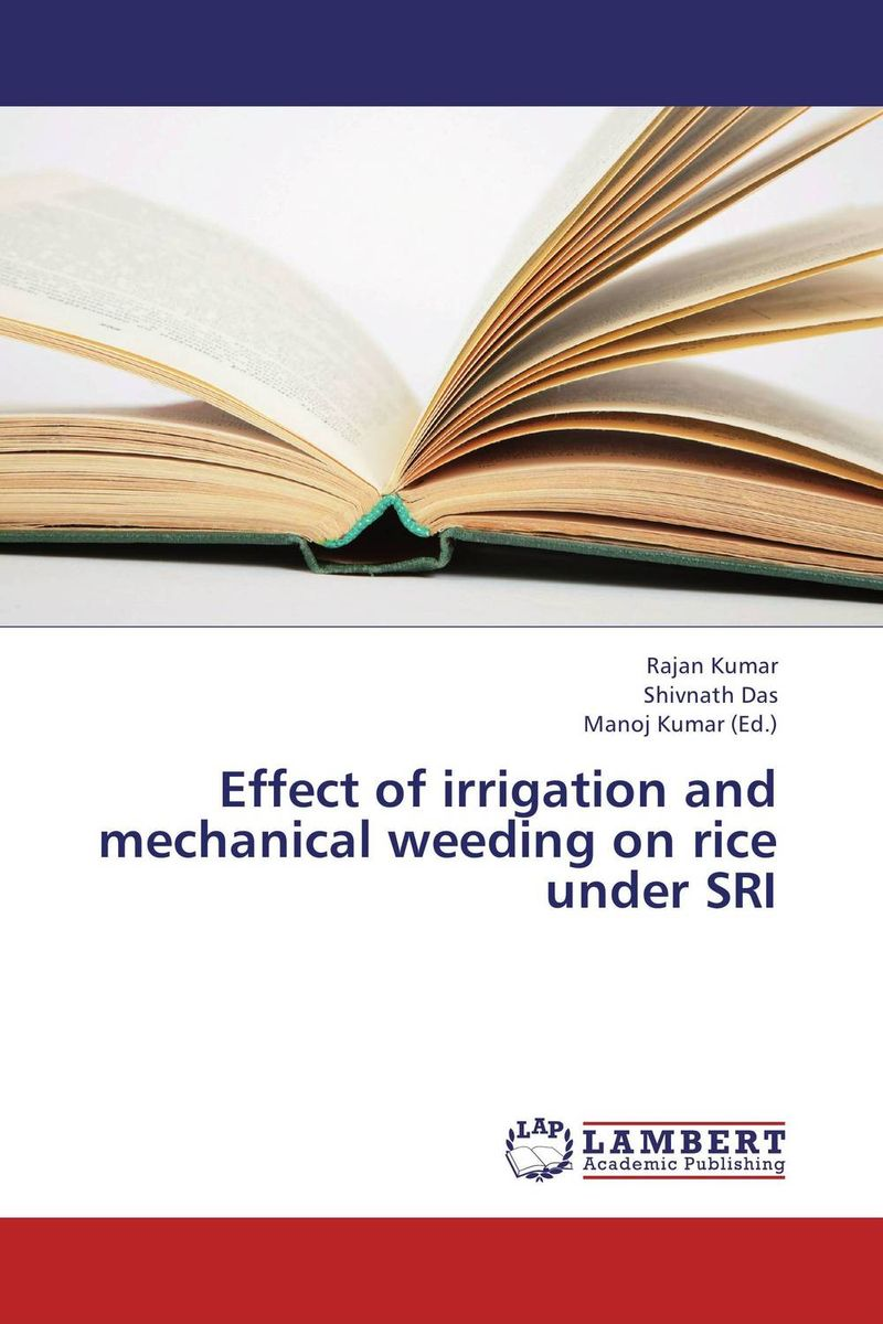 Effect of irrigation and mechanical weeding on rice under SRI forestry trees under irrigation with sewage effluent