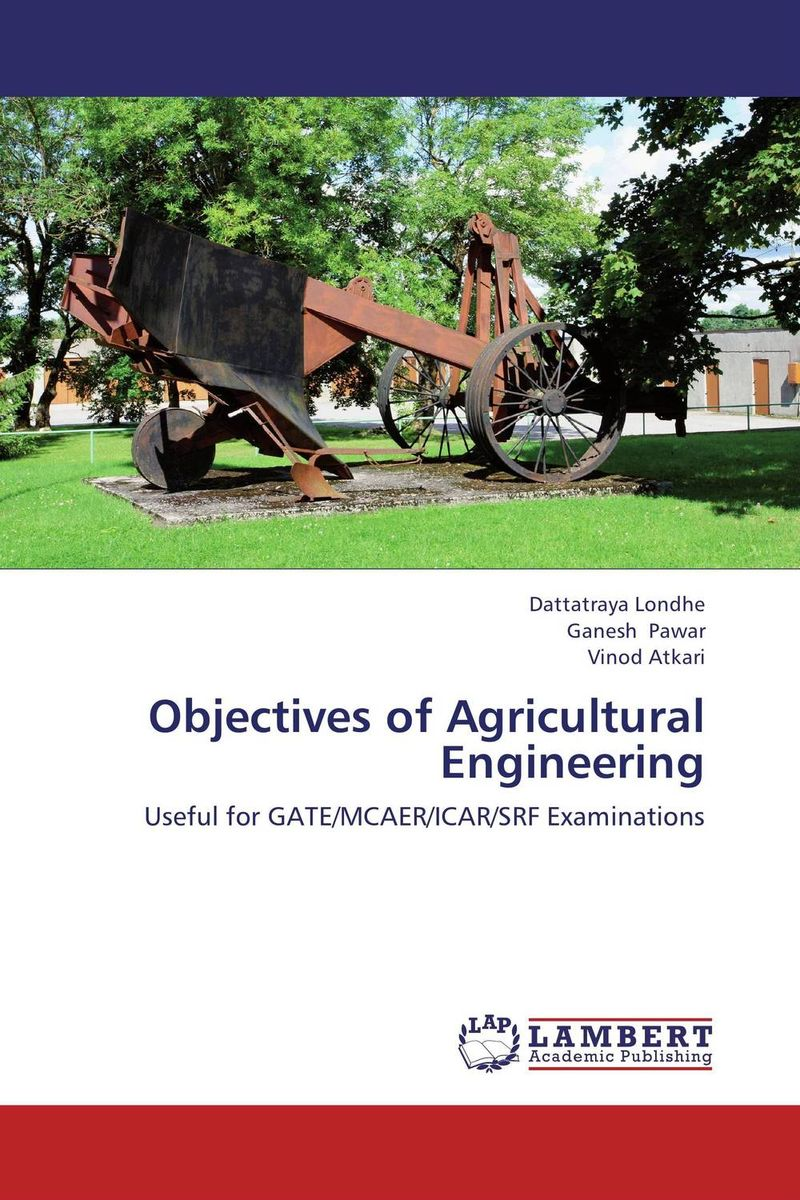 Objectives of Agricultural Engineering