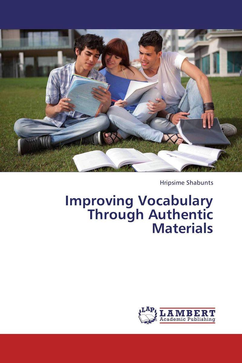 Improving Vocabulary Through Authentic Materials