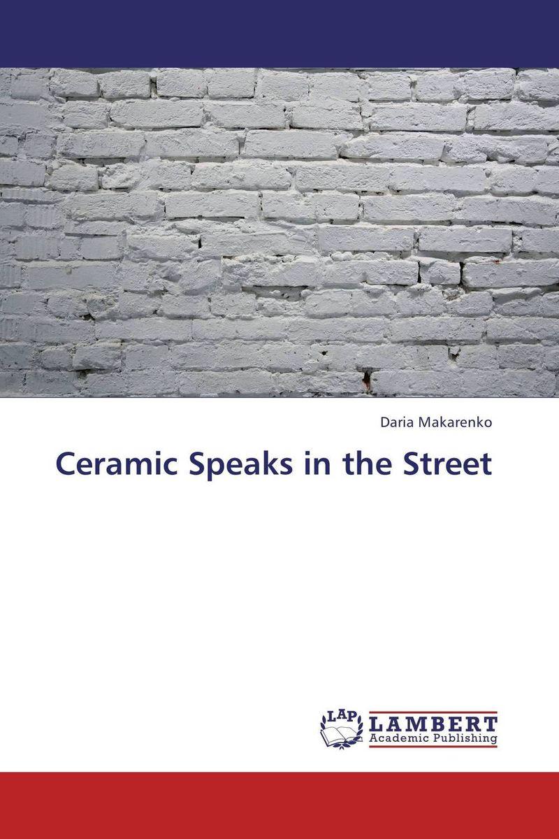 Ceramic Speaks in the Street art ceramic