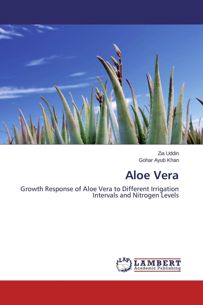 Aloe Vera ornamental plant production in recycled water