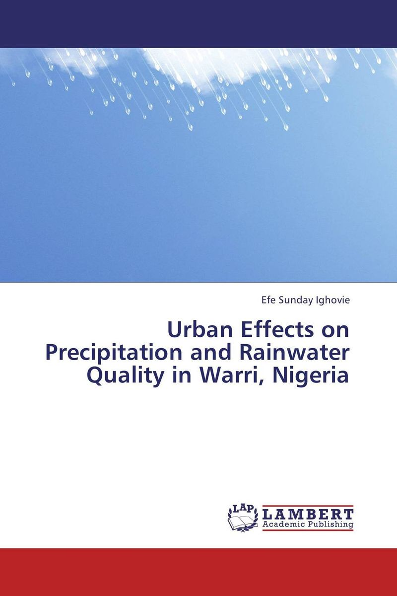 Urban Effects on Precipitation and Rainwater Quality in Warri, Nigeria impacts of urban traffic management on air quality