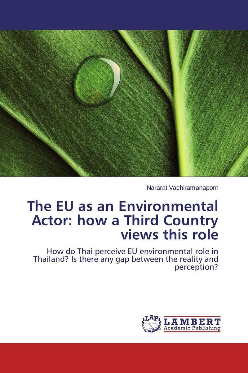 The EU as an Environmental Actor: how a Third Country views this role yahia tahir environmental archaeology of the nile third cataract