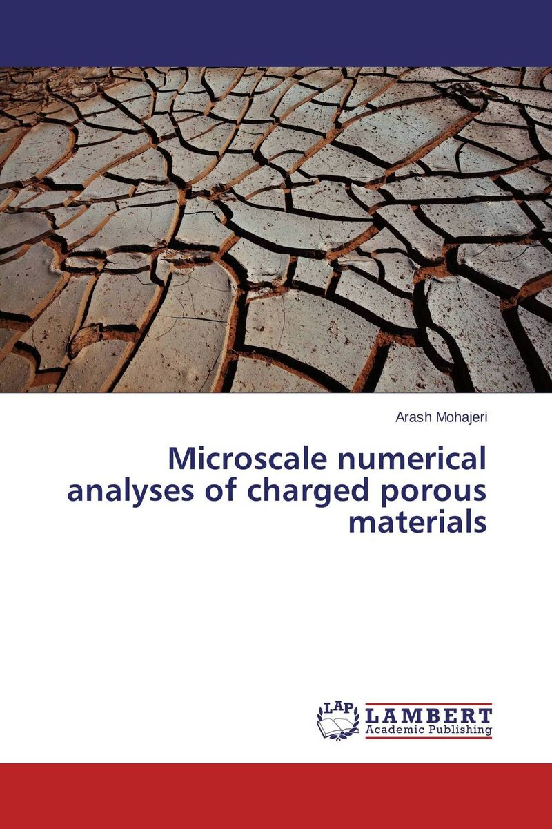 цена на Microscale numerical analyses of charged porous materials