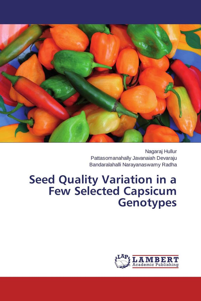 Seed Quality Variation in a Few Selected Capsicum Genotypes linguistic variation in a multilingual setting