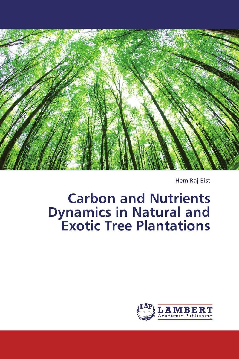 Carbon and Nutrients Dynamics in Natural and Exotic Tree Plantations gnanasekar s and chandrasekhar c n carbon sequestration in multipurpose tree species at seedling stage