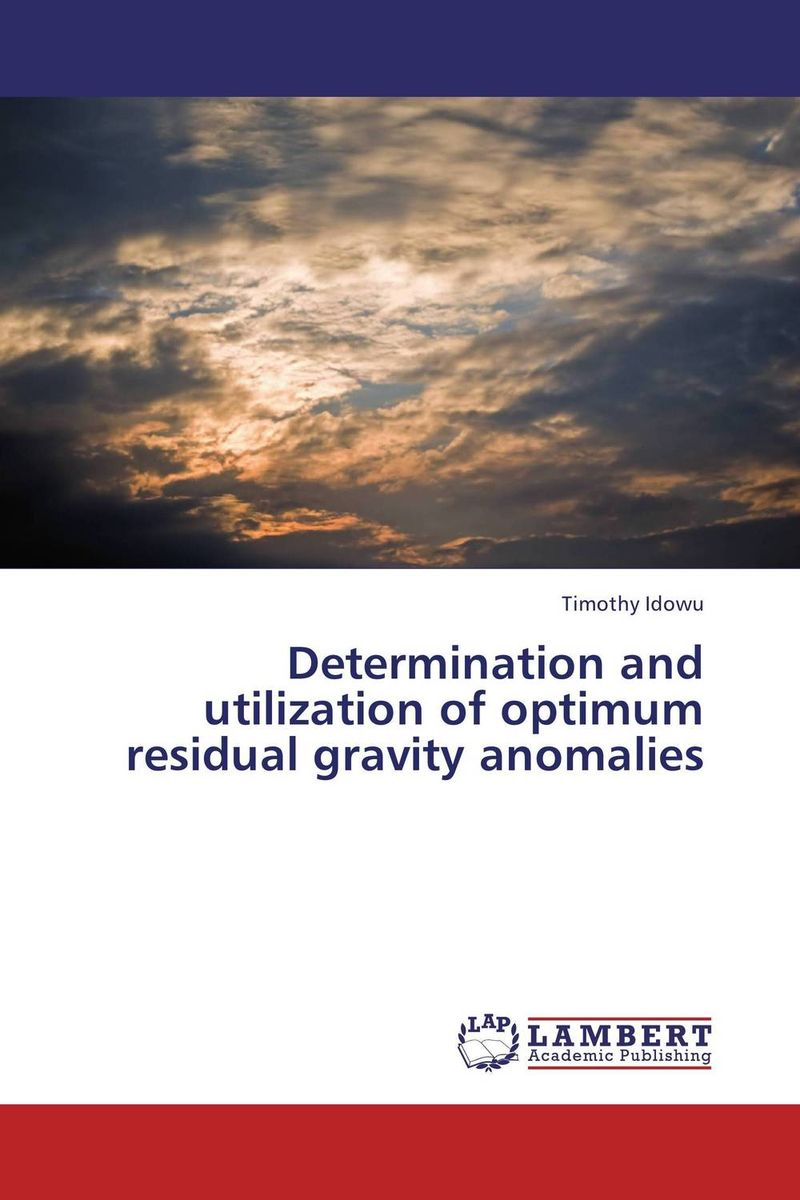 Determination and utilization of optimum residual gravity anomalies residual indeterminacy or optionality at core syntax