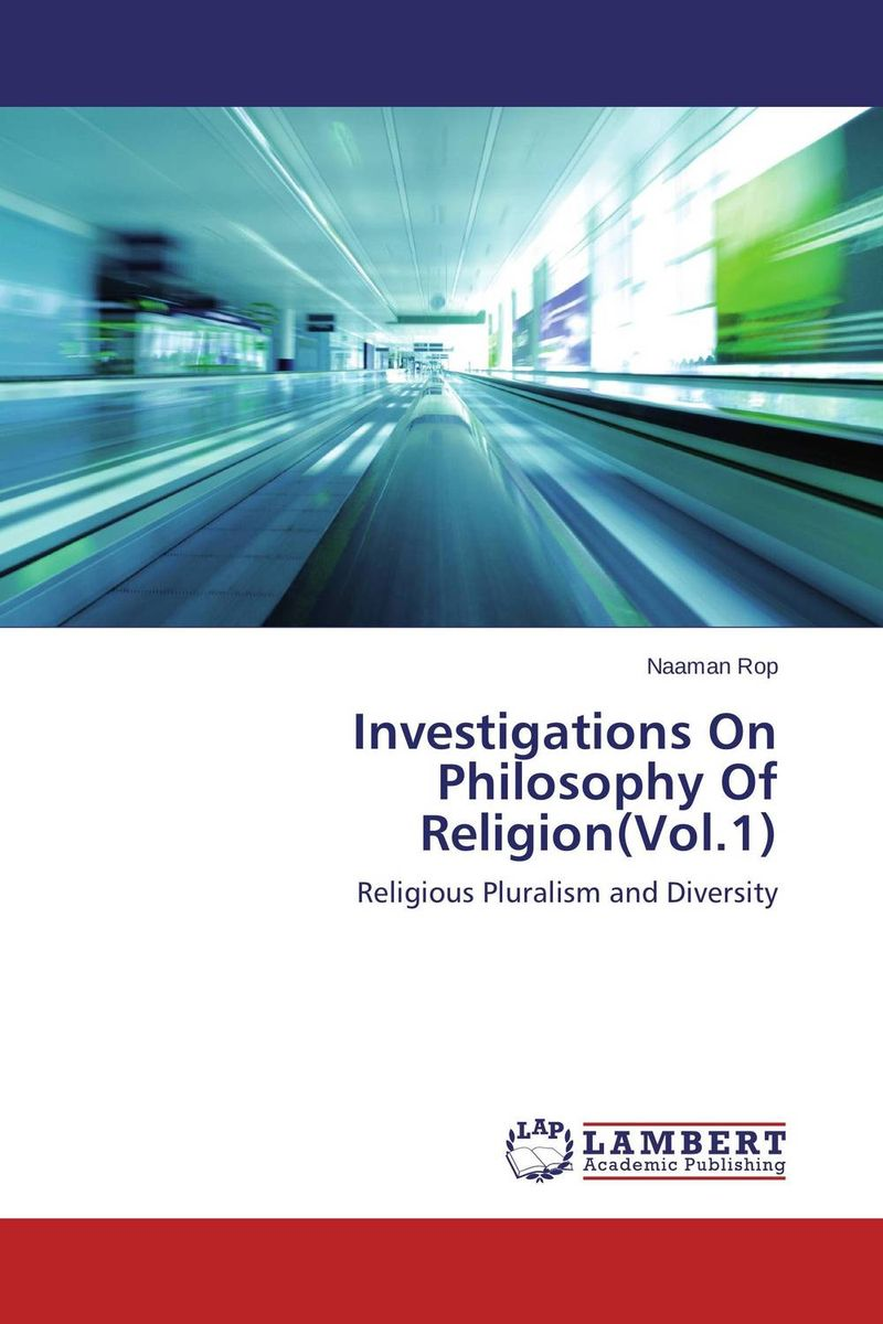 Investigations On Philosophy Of Religion(Vol.1) after you