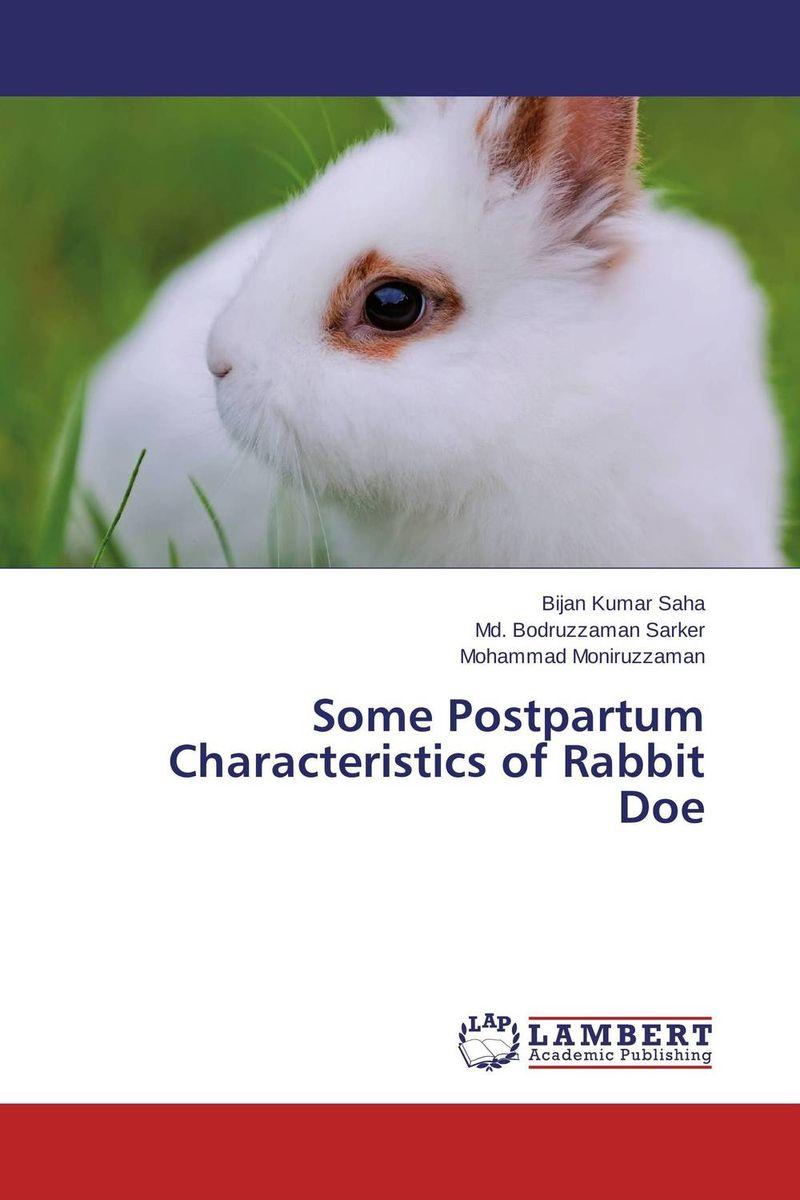 Some Postpartum Characteristics of Rabbit Doe health profile of women having postpartum hemorrhage