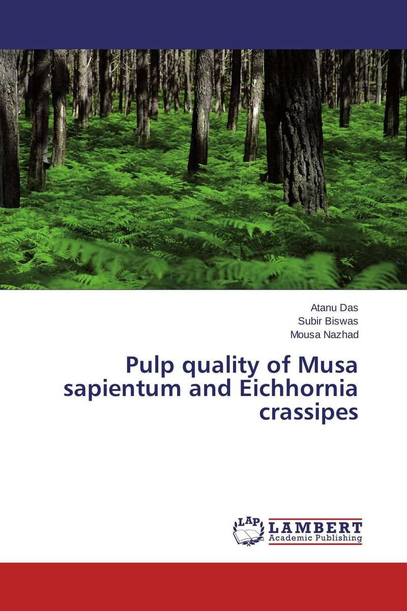 Pulp quality of Musa sapientum and Eichhornia crassipes biodegradation of coffee pulp waste by white rotters