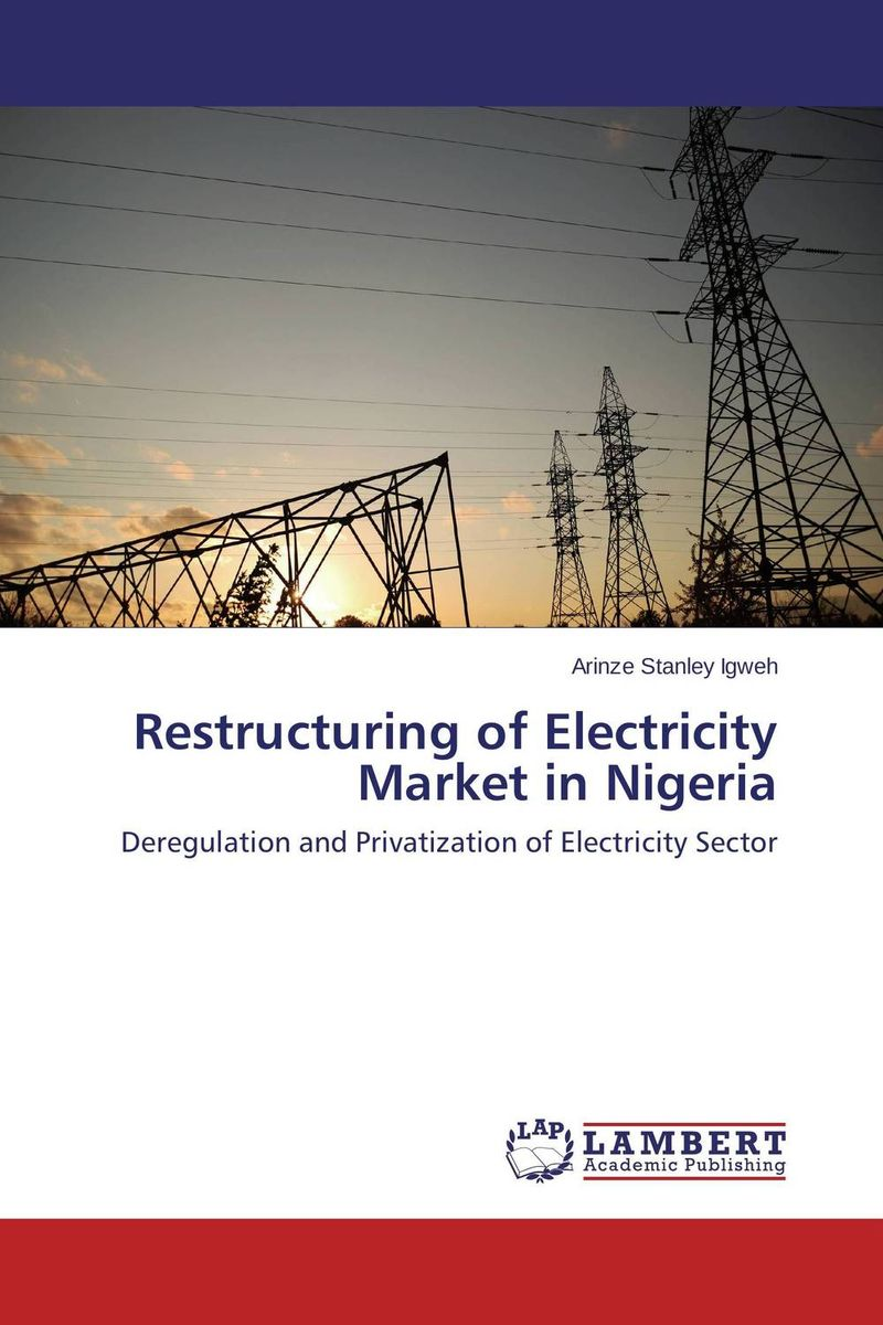 Restructuring of Electricity Market in Nigeria the valves are self acting i e they operate without the supply of auxiliary energy such as electricity or compressed air