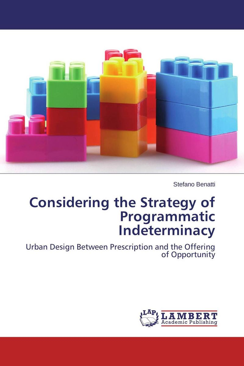 цена на Considering the Strategy of Programmatic Indeterminacy