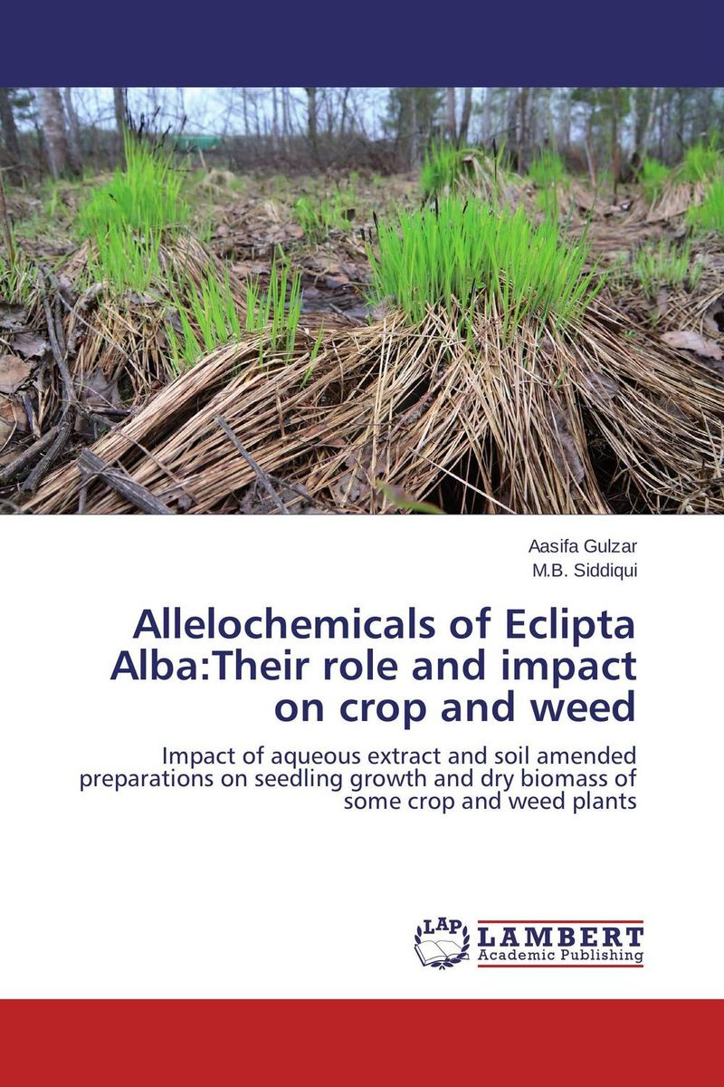 Allelochemicals of Eclipta Alba:Their role and impact on crop and weed effect of medicinal plant extracts on the viability of protoscoleces